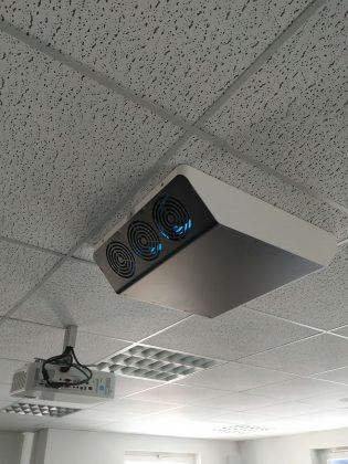 Lesen Sie hier den Artikel über: Luftreiniger endlich eingetroffen und bereits installiert!